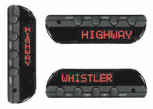Whistler DE-3500 Wireless Remote Radar Detector